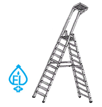 self-support-ladder-platform